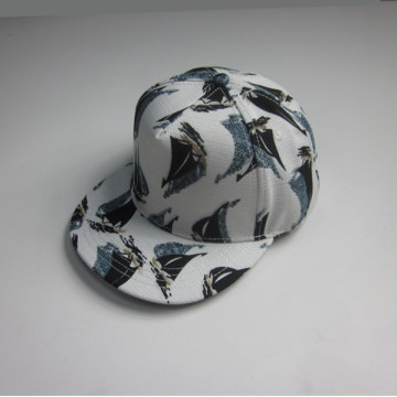 Custom All Over Printing Flat Bill Cap