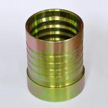 Interlock hydraulic ferrule for R13/R15 hose