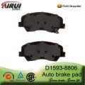 D1593-8806 brake pad for Hyundai Accent(OE:581011RA00)