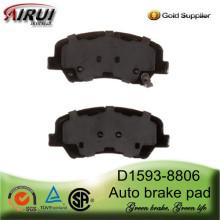 Plaquette de frein D1593-8806 pour Hyundai Accent(OE:581011RA00)