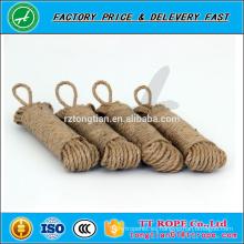 Cuerda de fibra de yute fuerte natural respetuoso del medio ambiente
