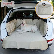 Couverture en nylon portative résistante de siège arrière de voiture de SUV de chien d'animal de compagnie pour le chien