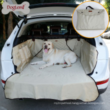 Portable Water Resistant Nylon Dog Pet SUV Car Back Seat Cover For Dog