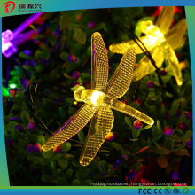 Solar LED Decrate Dragonfly String Light