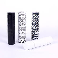 Difference design cylinder paper gift box for packaging