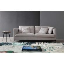 Sofá 2 plazas de tela