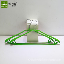 pvc coated metal clothes garment hanger