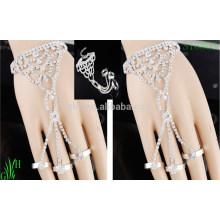 Bracelet en chaîne à strass