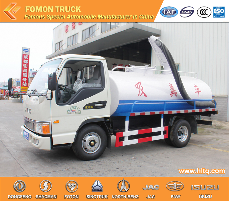 dung suction truck