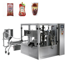Premade Pouch Tomato Shrimp Paste Dipping Sauce Packing Machine