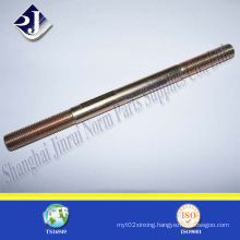 Zinc Plated B7 Stud Bolt for Oil Gas Field