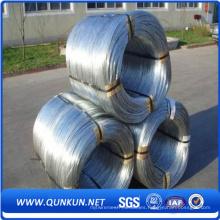 Alambre galvanizado sumergido caliente barato de la fábrica de Anping