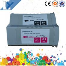 Tinteiro Compatível com a Melhor Qualidade para Tinteiros HP Designjet 5000 5500 5100 para HP 81 83