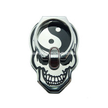 Skull Shape Finger Ring Holder for Mobile Phone, Metal Cell Phone Holder