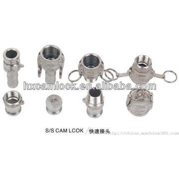 Fuzhou Hongxing good quality SS camlock coupling pipe fitting