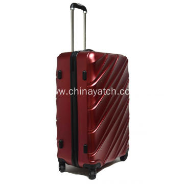 PET New Material Fashion Rolling Luggage Set