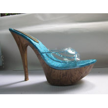 Sandálias de Salto Alto Fshion para Mulheres (HCY03-062)