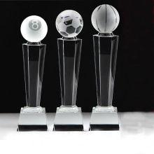 K9 Crystal Glass Trophy Craft for Souvenir
