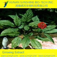Leaf and stem/root part extraction CAS:51542-56-4 Ginsenoside Re