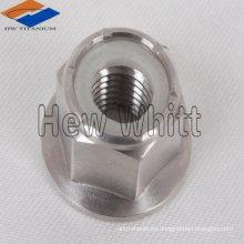 Tuerca de brida hexagonal de titanio GR5