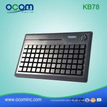 USB con teclado programable lector de tarjeta opcional