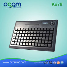 USB With Optional Card Reader Programmable Keyboard