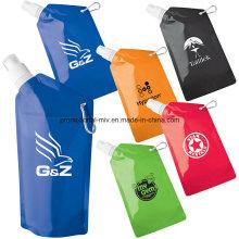 20oz zusammenklappbare Wasserflaschen Wasserbeutel
