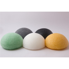 Soins de la peau 100% Fibres végétales Facial Cleaning Sponge Konjac Sponge