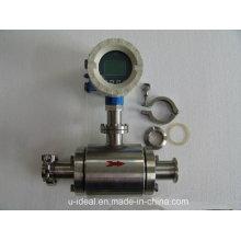Mètre magnétique électromagnétique sanitaire de débit pour la bière, liquide, laitier