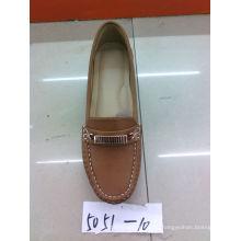 Falt & Comfort Señora zapatos con TPR suela (SNL-10-056)