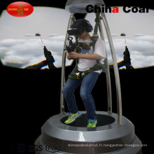 Chine Charbon 9d Vr Skydiving Simulator
