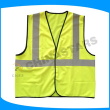 reflective yellow safe vest for running, jogging, cycling