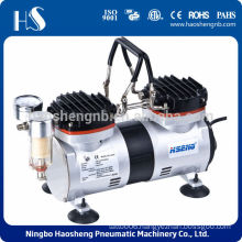 AS30 mini double cylinder vacuum pump