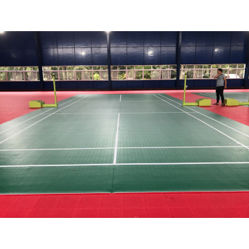 Piso de esportes anti-derrapante interior PVC Badmintion