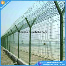 Hot sale security 358 fence / razor barbed blade fencing wire