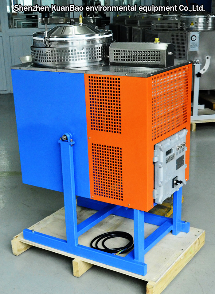 Organic solvent recovery machine sales