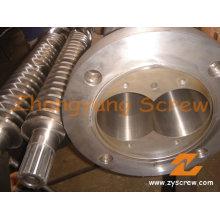 Machine à pelletiser 65/132 Double vis conique et baril