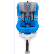 Child car seats with blue grey cover