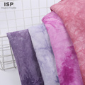 Tie Dyed  Poplin Printed Fabric For Dress
