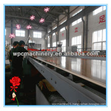 Machine line for wpc foam plate extrusion/foam production line/hdpe pipe extrusion machine/line