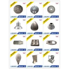 Pièces en aluminium de moulage mécanique sous pression Appareil d'éclairage de moulage mécanique sous pression et logement de LED