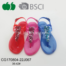 Hot New Summer Pvc Fashion Ladies Sandals