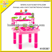 best selling toy for girl baby toy kitchen set with sound & light H105387