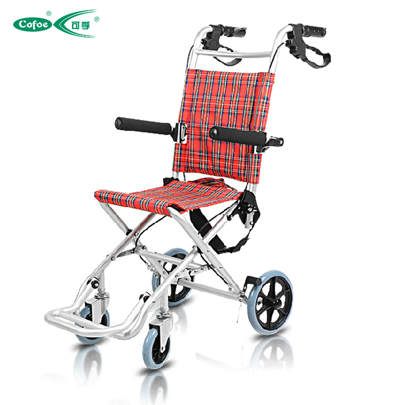 Aluminum Manual Wheelchair open