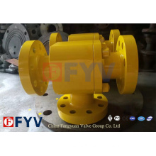 API 6D Three Way L Type CF8 Ball Valve