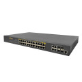 Switch POE a 24 porte gestito 10 / 100M per telecamera IP