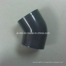 Anexo 40 (U) Conexão de tubulação de PVC / CPVC / Cotovelo de 45 graus