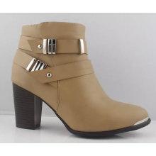 Comfortbale Woemen′s Chuncky Heel Ankle Boots (S 27)