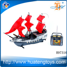 2014 de gran velocidad de control remoto barco rc barco de pesca de control remoto bote de pesca H97316