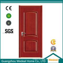 Puerta interior clásica de dos paneles para proyectos de casas